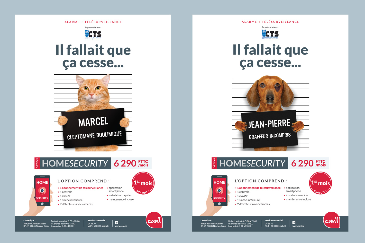 Coup d'Ouest - Can'l - Home Security