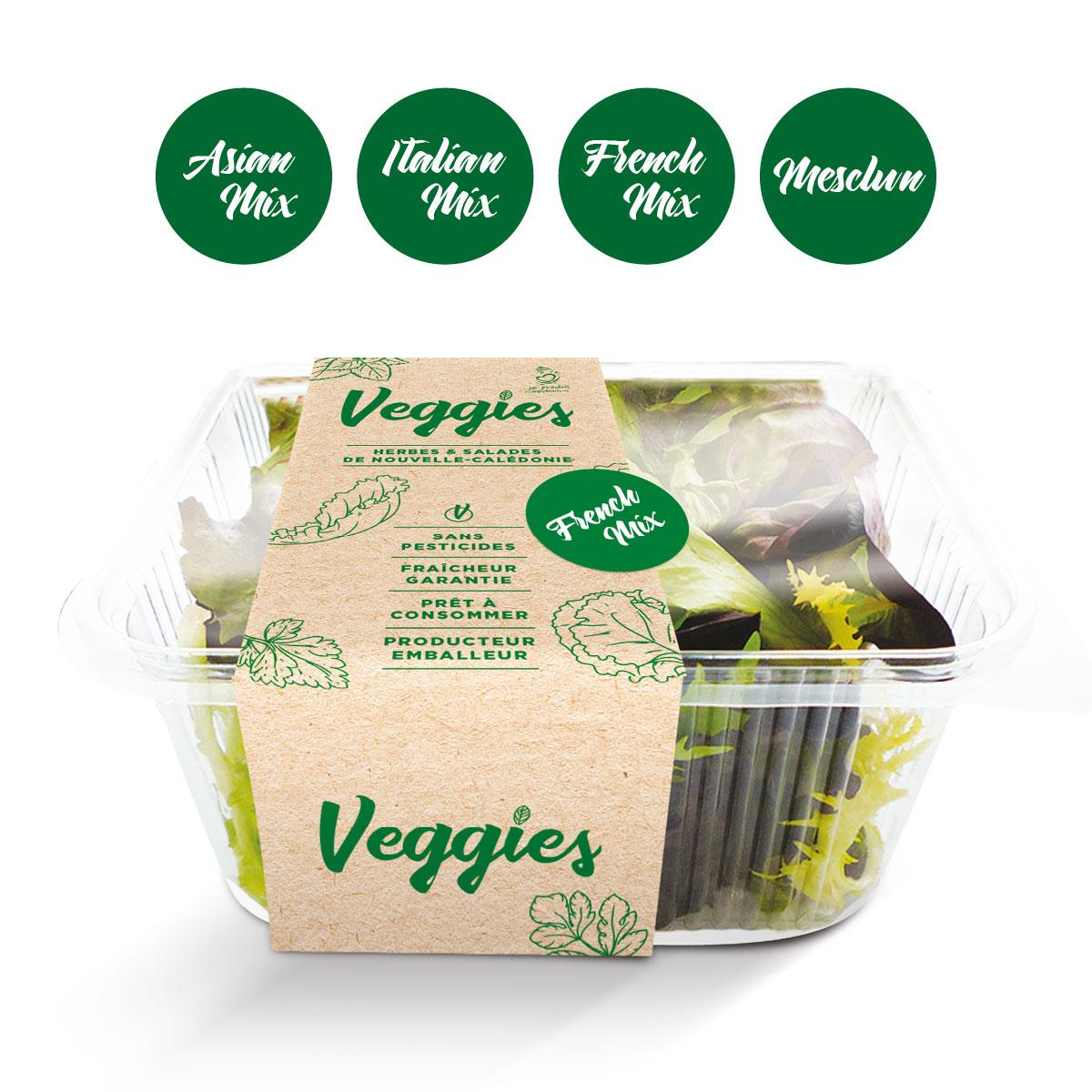 Coup-d'Ouest - Veggies - Herbes et Salades - Nouvelle-Calédonie