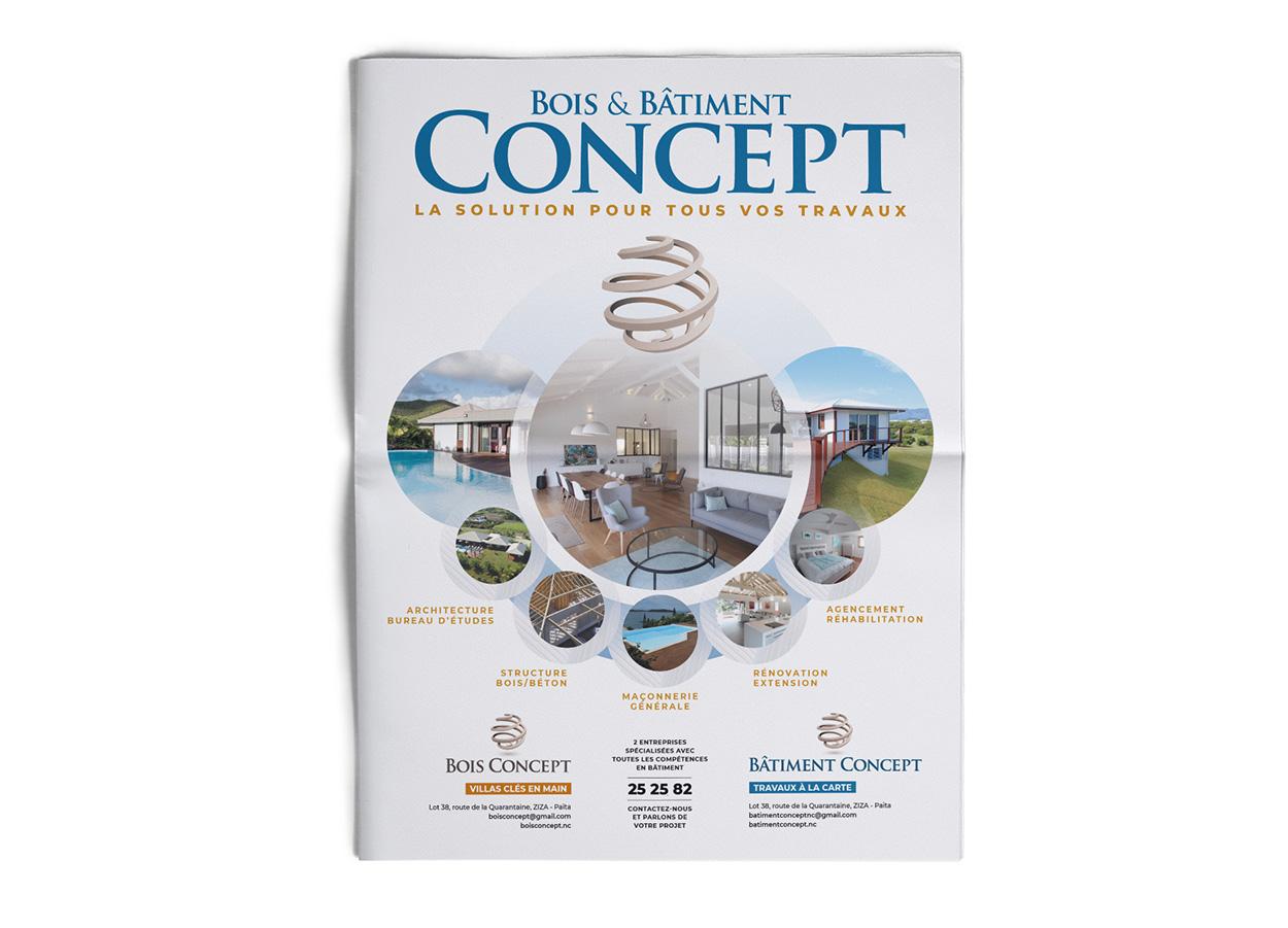 Agence Coup d'Ouest-Nouméa-édition-catalogue Bois Concept 1