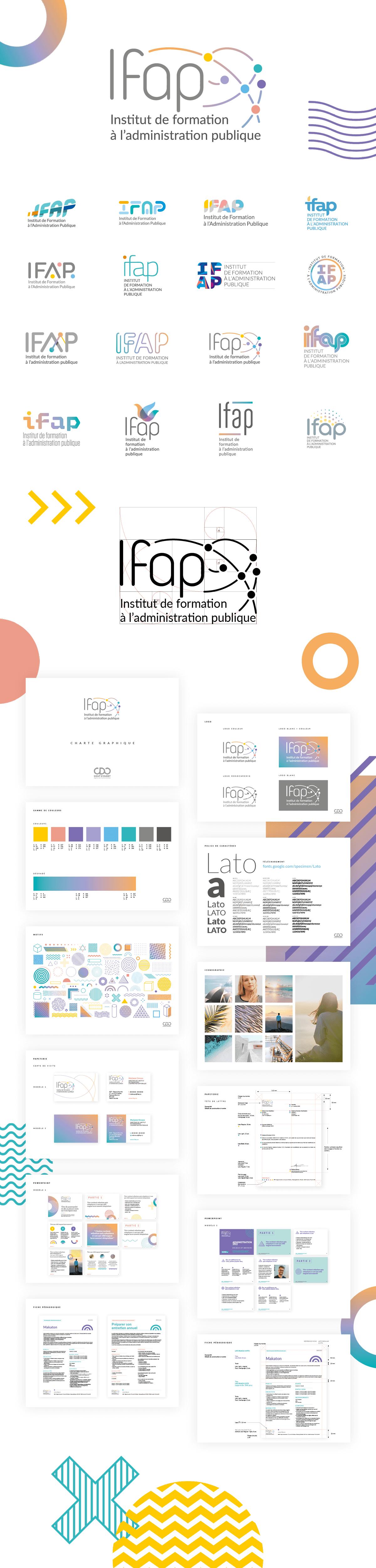 IFAP-Identité visuelle-création logo-Charte graphique
